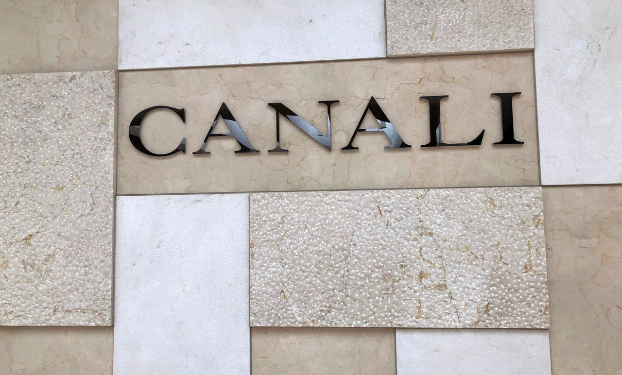 Canali Storefront - South Coast_plaza