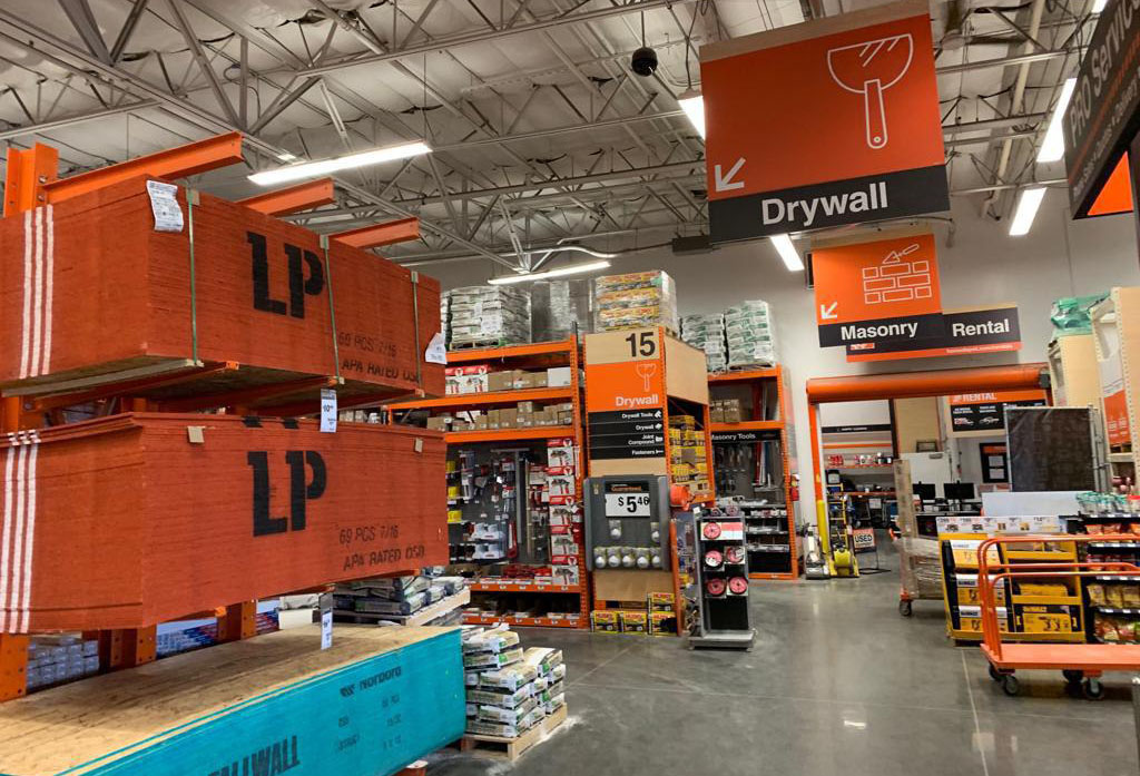 Home Depot Drywall