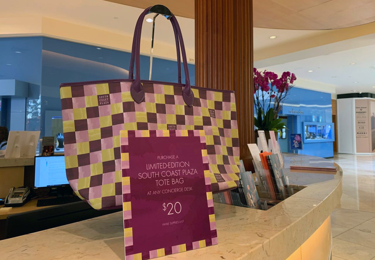 Limited Edition South Coast Plaza Tote Bag