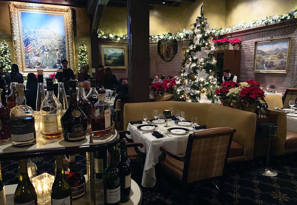 New Year's Event in a Restaurant - SoCal
