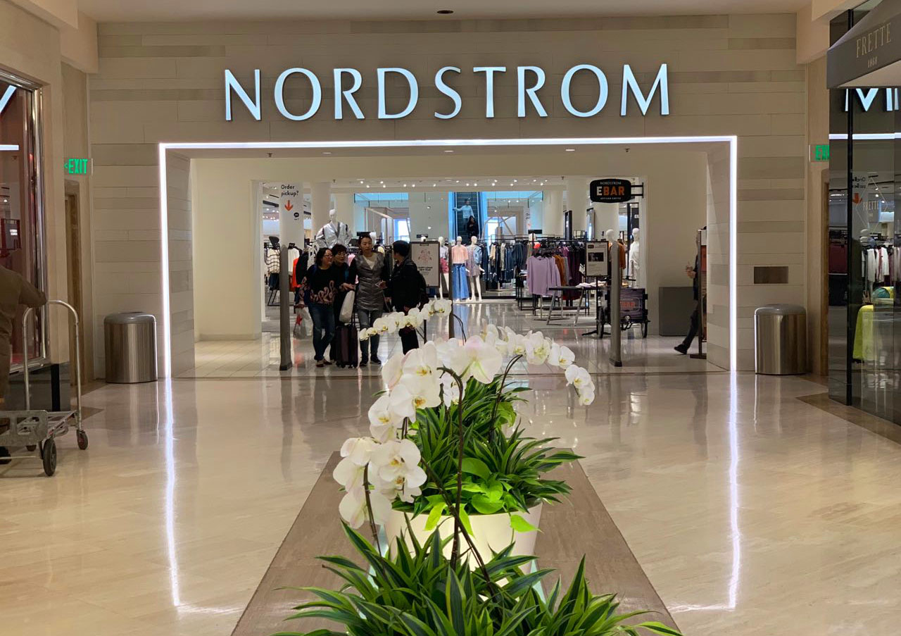 Nordstrom Storefront - South Coast Plaza
