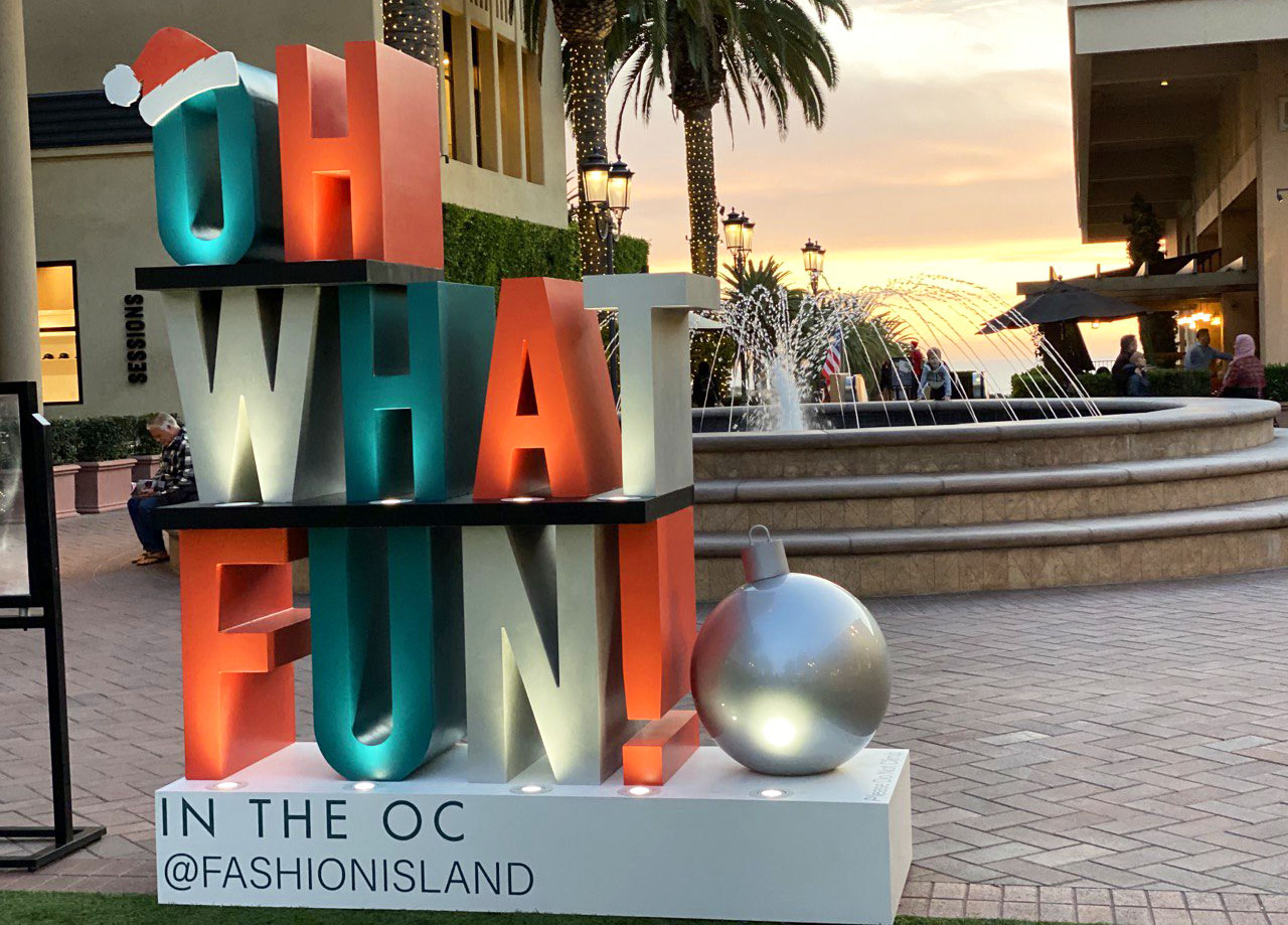 Oh What Fun in The Orange County Sign