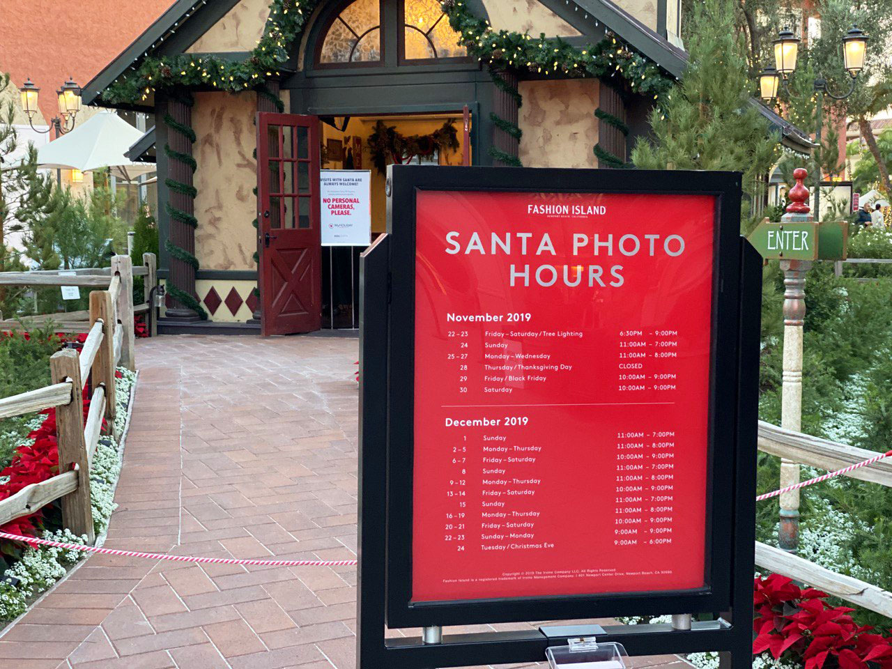 Santa Photo Pricing