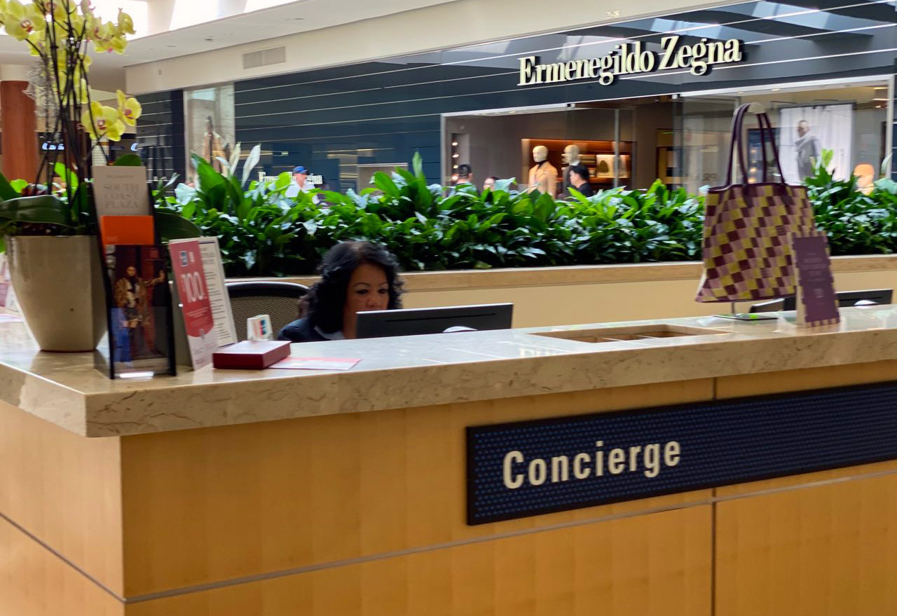 South Coast Plaza Concierge