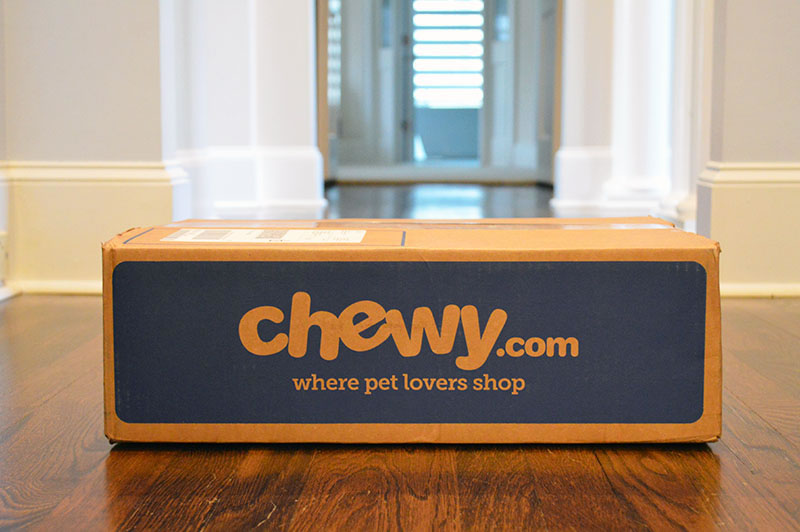 Chewy Pet Supplies Box